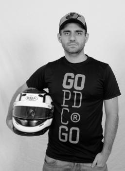Kart pé de chumbo piloto Andre Gonçalves