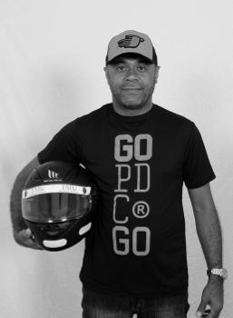 Kart pé de chumbo piloto Carlos Barbosa
