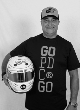 Kart pé de chumbo piloto Paulo Rosa