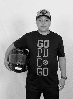 Kart pé de chumbo piloto Rodrigo Ferraz